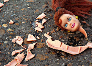 Barbie broken